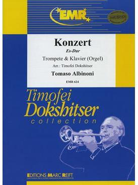 Picture of Sheet music for trumpet, cornet or flugelhorn and piano or organ by Tomaso Albinoni