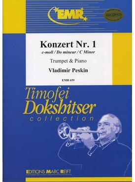 Picture of Sheet music for trumpet and piano by Vladimir Peskin