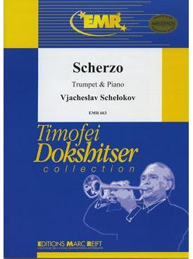 Picture of Sheet music for trumpet and piano by Vjacheslav Schelokov