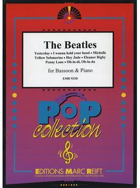 Picture of Sheet music for bassoon and piano by John Lennon and Paul McCartney