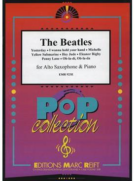 Picture of Sheet music for alto saxophone and piano by John Lennon and Paul McCartney
