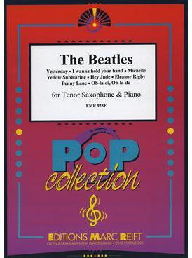 Picture of Sheet music for tenor saxophone and piano by John Lennon and Paul McCartney