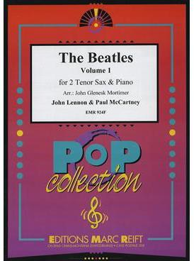 Picture of Sheet music for 2 tenor saxophones and piano by John Lennon and Paul McCartney
