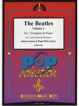 Picture of Sheet music for 2 trumpets in Bb or C and piano by John Lennon and Paul McCartney