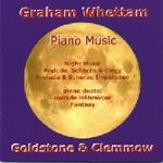 Picture of CD of piano music by Graham Whettam, performed by Goldstone and Clemmow