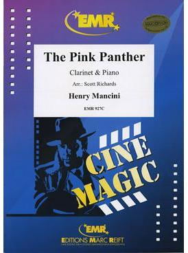 Picture of Sheet music for clarinet and piano by Henry Mancini