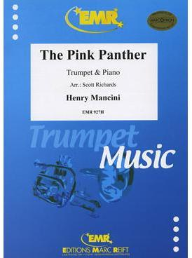 Picture of Sheet music  for trumpet (bb/c) and piano. Sheet music for trumpet in Bb or C and piano by Henry Mancini