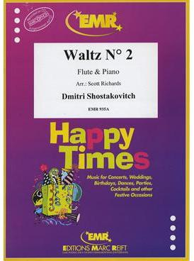 Picture of Sheet music for flute and piano by Dmitri Shostakovitch