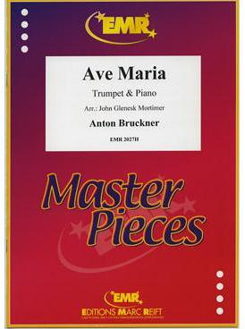 Picture of Sheet music for trumpet in Bb or C, cornet or flugelhorn and piano by Anton Bruckner