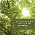 Picture of CD of clarinet and piano arrangements of art-song by various composers, performed by Cristo Barrios and Clinton Cormany