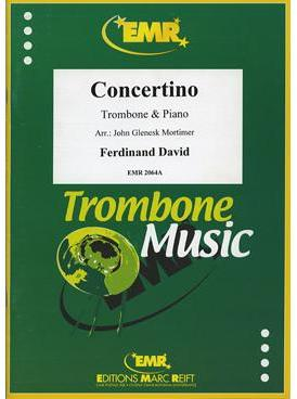Picture of Sheet music for baritone, tenor trombone (bass or treble clef) or euphonium and piano by Ferdinand David