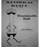 Picture of Sheet music  for 2 trumpets; french horn or baritone; trombone; tuba. Sheet music for brass quintet by Dmitri Shostakovitch