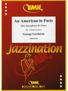Picture of Sheet music for alto saxophone and piano by George Gershwin