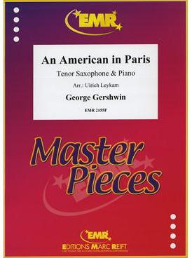 Picture of Sheet music for tenor saxophone and piano by George Gershwin