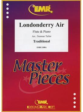 Picture of Sheet music  by Traditional Irish Air. Sheet music for flute and piano
