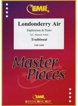 Picture of Sheet music  by Traditional Irish Air. Sheet music for euphonium and piano