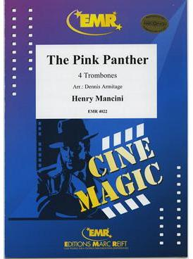 Picture of Sheet music for 4 tenor trombones by Henry Mancini