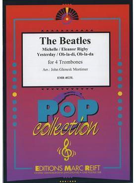 Picture of Sheet music for 4 tenor trombones by John Lennon and Paul McCartney
