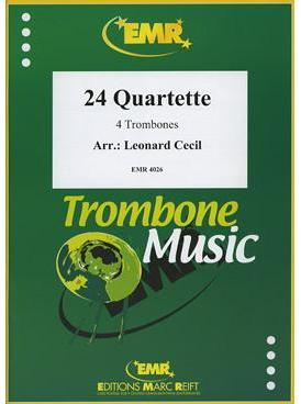 Picture of Sheet music  by Album of composers. Sheet music for 4 trombones