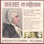 Picture of CD of music by Mozart, arranged for piano duo and performed by Goldstone and Clemmow