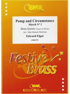 Picture of Sheet music  for 2 trumpets (bb/c); french horn (eb/f) or trumpet; trombone (bc/tc) or euphonium; trombone (bc/tc), euphonium or tuba (bb/c/eb). Sheet music for brass quintet by Edward Elgar