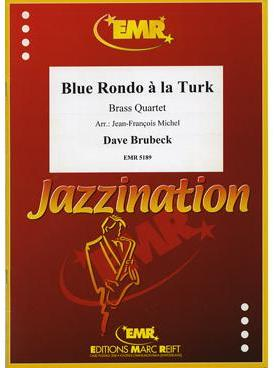 Picture of Sheet music for 2 trumpets in Bb or C and 2 tenor trombones (bass clef or treble clef) by Dave Brubeck