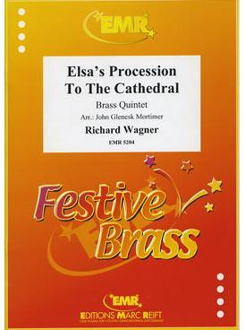 Picture of Sheet music  for 2 trumpets (bb/c); french horn (eb/f) or trumpet; trombone (bc/tc) or euphonium; trombone (bc/tc), euphonium or tuba (bb/c/eb). Sheet music for brass quintet by Richard Wagner