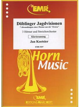 Picture of Sheet music for 3 french horns and piano by Jan Koetsier