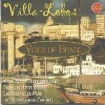 Picture of CD of music by Villa Lobos, performed by soprano Anna Maria Bondi, with Francoise Petit on piano and Les Solistes de Paris
