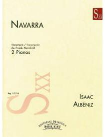 Picture of Sheet music for 2 pianos 4 hands by Isaac Albéniz