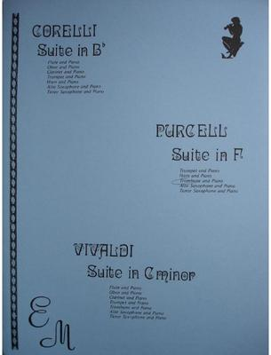 Picture of Sheet music for trombone and piano by Henry Purcell