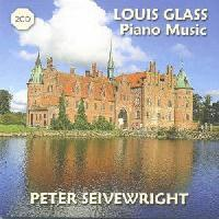 Picture of CD of piano music by Louis Glass, performed by Peter Sievewright