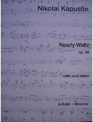 Picture of Sheet music for cello and piano by Nikolai Kapustin