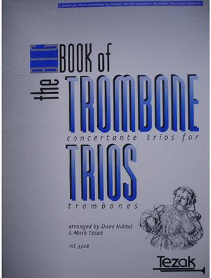 Picture of Sheet music  by Album of composers. Sheet music for 3 tenor trombones
