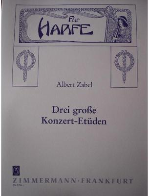 Picture of Sheet music for harp solo by Albert Zabel