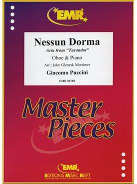 Picture of Sheet music for oboe and piano by Giacomo Puccini
