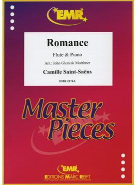 Picture of Sheet music for flute and piano by Camille Saint-Saëns