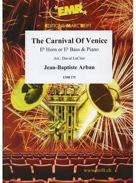 Picture of Sheet music for french horn in Eb or tuba in Eb and piano by Jean-Baptiste Arban