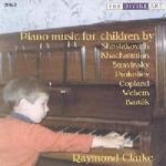 Picture of CD of piano works written with children in mind, performed by Raymond Clarke