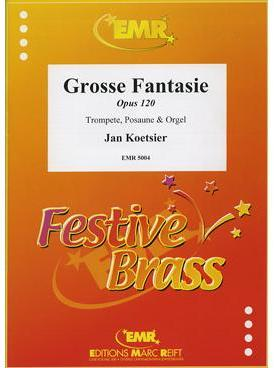 Picture of Sheet music for trumpet, tenor trombone and piano or organ by Jan Koetsier