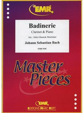 Picture of Sheet music for clarinet and piano by Johann Sebastian Bach