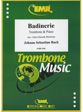Picture of Sheet music for tenor trombone and piano by Johann Sebastian Bach