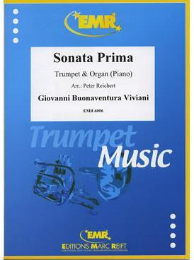 Picture of Sheet music  for trumpet (bb/c); piano or organ. Sheet music for trumpet in Bb or C, cornet or flugelhorn and piano or organ by Giovanni Viviani