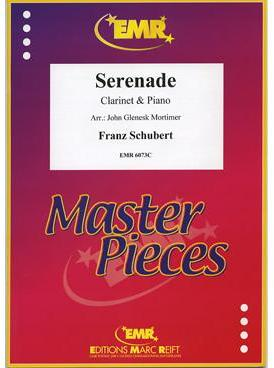 Picture of Sheet music for clarinet and piano by Franz Schubert