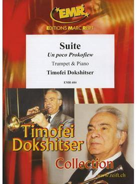 Picture of Sheet music for trumpet and piano by Timofei Dokshitser and Bogdan Trotsuk