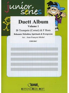 Picture of Sheet music  by Album of composers. Sheet music for trumpet or cornet and french horn