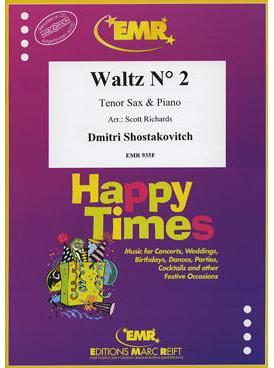 Picture of Sheet music for tenor saxophone and piano by Dmitri Shostakovitch
