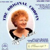 Picture of CD of works by Chopin performed by Angela Lear