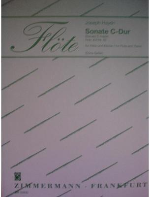 Picture of Sheet music for flute and piano by Josef Haydn
