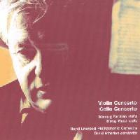 Picture of CD of Concertos by Hugh Wood performed by Manoug Parikian and Moray Walsh with the RLPO under David Atherton